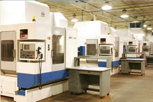 CNC Vertical Machining Services