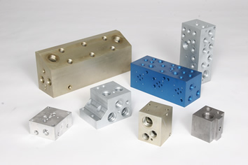 Precision CNC Machined Hydraulic Components